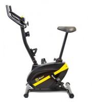Велотренажер BS-1006B GAINER для дома магнитный черно-желтый